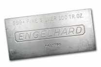 Engelhard Silver Bars 100 oz