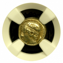 Young Male Head Electrum 1/6 Stater NGC XF 4X4