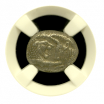 Croesus Silver Full Stater NGC Very Fine 5x3