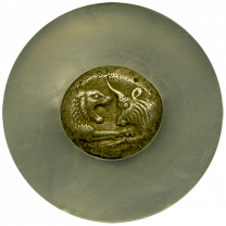 Croesus Silver Stater Choice Extremely Fine - Obverse