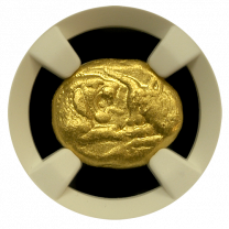 Lydia Croesus Light Stater NGC CHVF 5x3