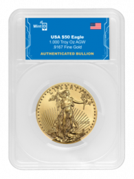 1-oz. - MintID 2021 Gold American Eagles