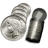 Peace Silver Dollars - Roll of 20