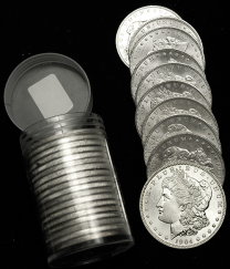 Morgan Silver Dollars Pre-1921 - Roll of 20