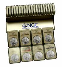 American Eagle MS-69 Silver Dollar 30 Coin Set