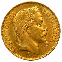 Napoleon III French 20 Francs 1852-1870 - Obverse