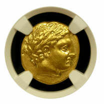 Philip II Gold Stater EP NGC CHXF 5x3