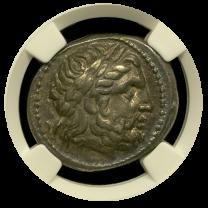 Philip II Silver Tetradrachm Extremely Fine