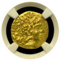 Mithradates VI Gold Stater NGC MS 4x4