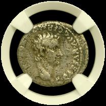 Caligula Silver Denarius - Obv
