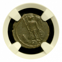 Roman Commemorative of Constantinopolis (Victory on Prow) Mint State