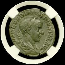 Gordian III Bronze Sestertius CHXF