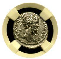 Septimus Severus Silver Denarius NGC Extremely FineSeptimus Severus Silver Denarius NGC Extremely Fine