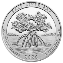 2020 5-oz Silver ATB - Salt River Bay, Virgin Islands