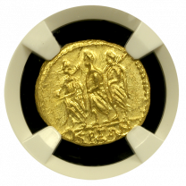 Coson Gold Stater MS 3x4 - Obverse