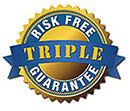 Triple Money Back Guarantee