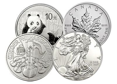 Silver Coins Grouping