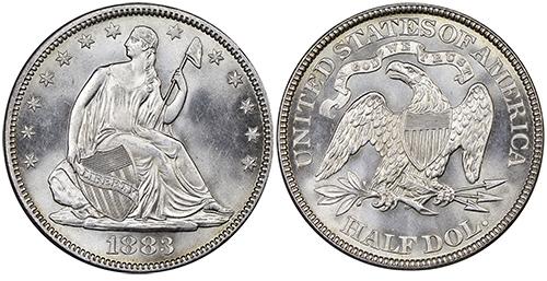 seated liberty silver dollar