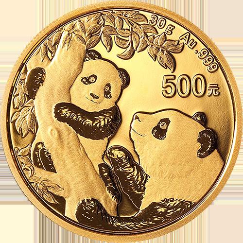 China Gold Panda Coins