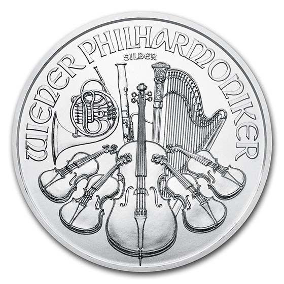 Austrian Philharmonic Silver Coins