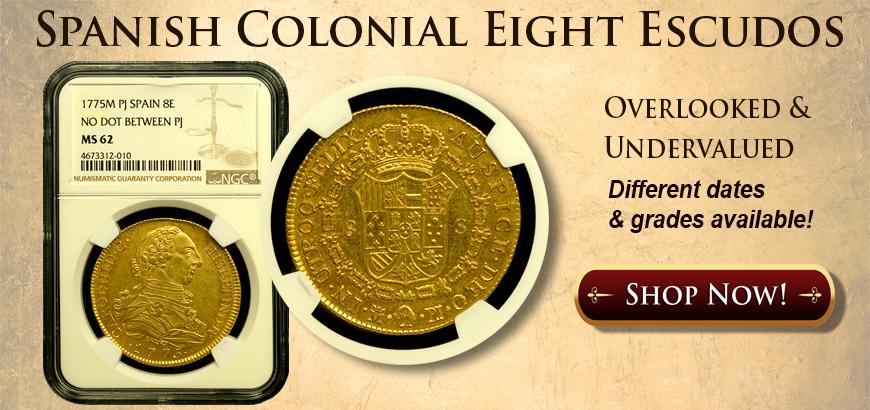 Escudo Gold Coins