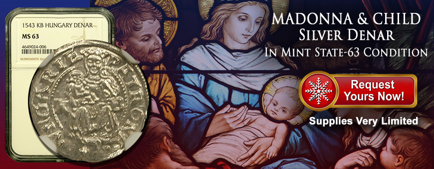 Madonna and Child Silver Coin
