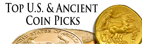 rare coin and ancient coin picks
